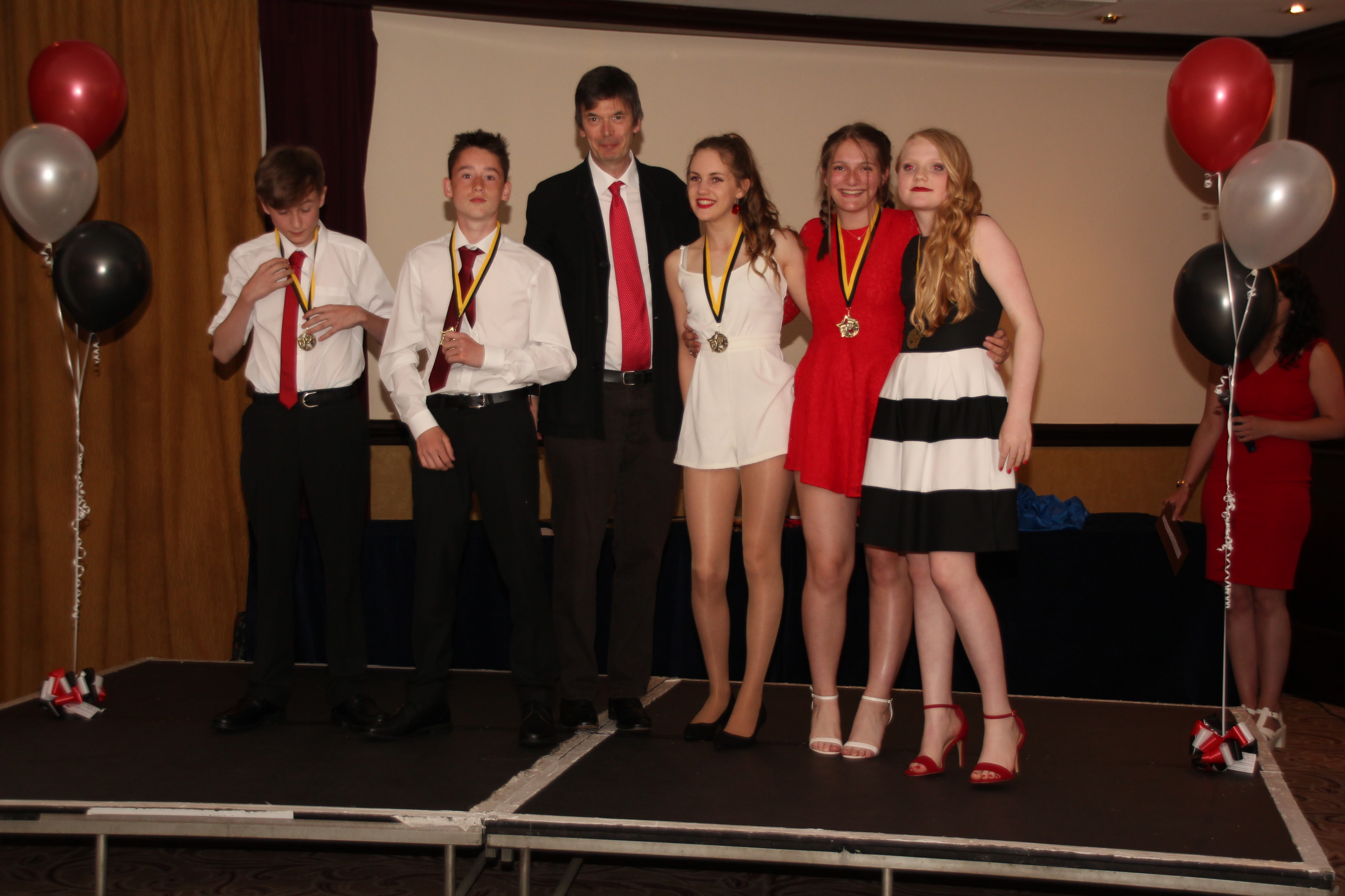 Ian Rankin With Junior Creative Winners.jpg