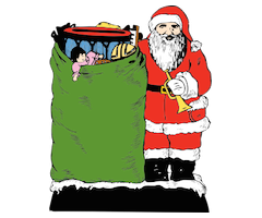 johnny-automatic-santa-and-his-bag-300px